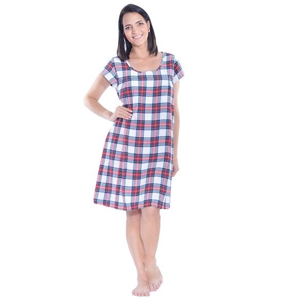 231674b970cc9 My Bella Mama Intimates & Sleepwear | Short Sleeve Nursing Gown ...